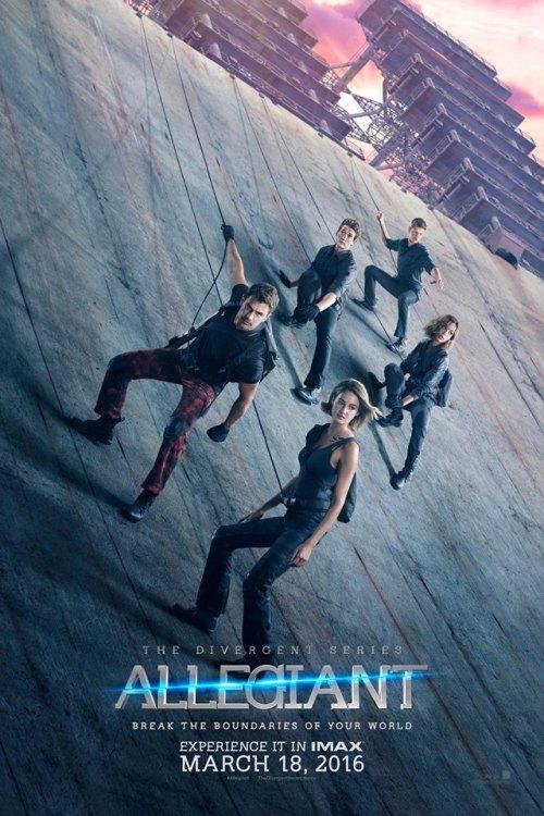 Poster Divergente 3 Allegiant