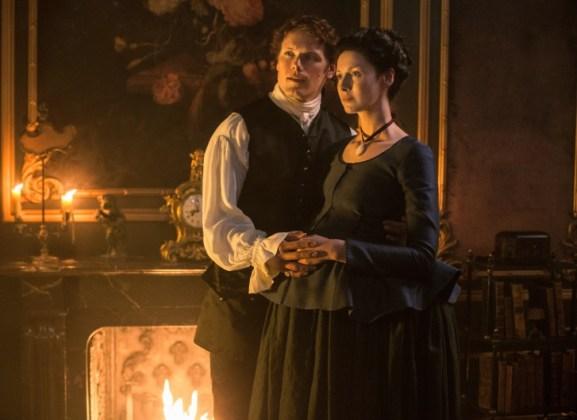Outlander saison 2 - Jamie et Claire 3