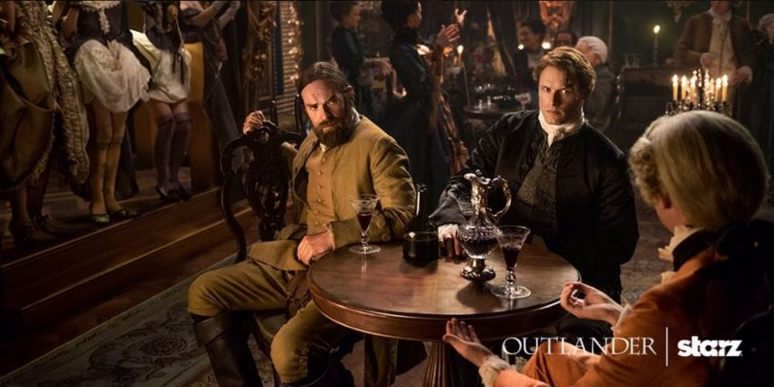 Outlander saison 2 - Jamie et Murtagh 2