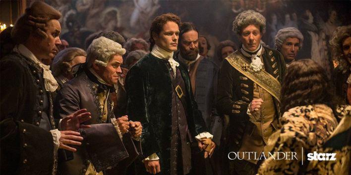 Outlander saison 2 - Jamie et Murtagh