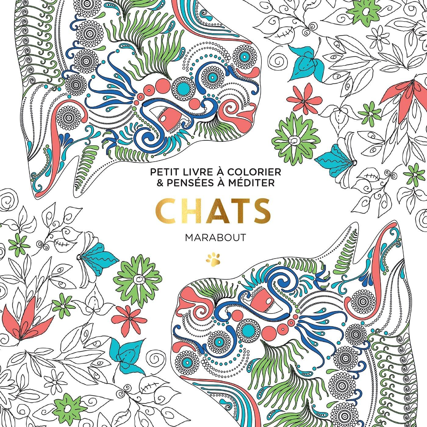 Petit livre  colorier Chats