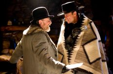 (L-R) TIM ROTH and WALTON GOGGINS star in THE HATEFUL EIGHT. Photo: Andrew Cooper, SMPSP © 2015 The Weinstein Company. All Rights Reserved.