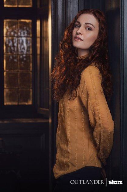 Outlander saison 2 - Sophie Skelton - Brianna