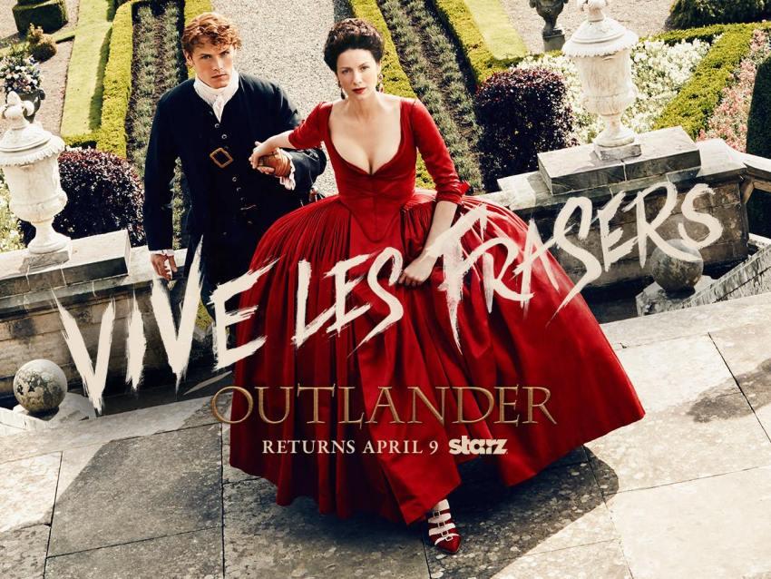 Outlander Saison 2 - Vive les Frasers