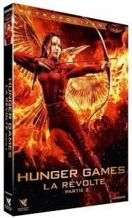 DVD Hunger Games - La révolte partie 2
