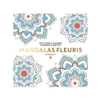 Petit livre à colorier - Mandalas fleuris