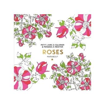 Petit livre à colorier - Roses