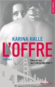 L'offre de Karina Halle