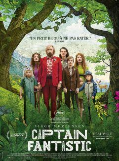 Captain Fantastic Affiche Film