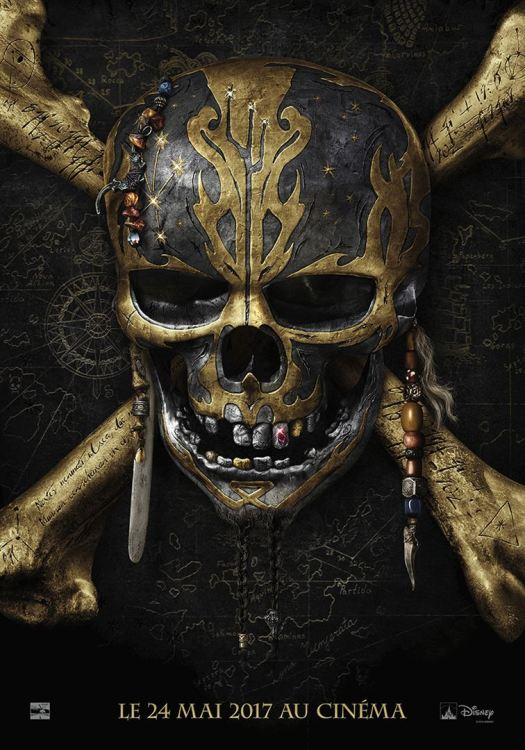Affiche pirate des caraïbes 5