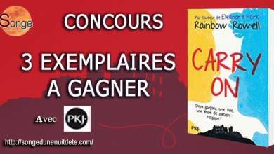 Photo de Carry On de Rainbow Rowell à Gagner avec Songe !