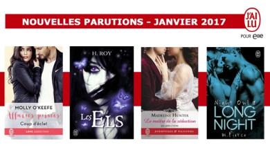 Photo of Les Parutions Attendues de J'ai Lu Pour Elle pour Janvier 2017
