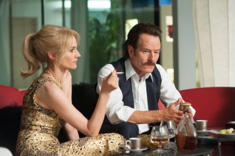 Kathy Ertz (Diane Kruger) et Robert Mazur (Bryan Cranston) dans Infiltrator