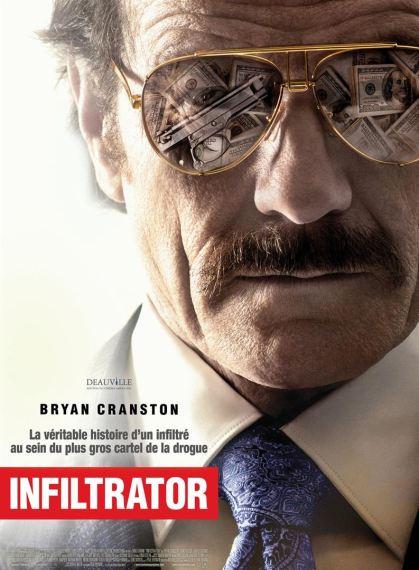 L'affiche du film Infiltrator