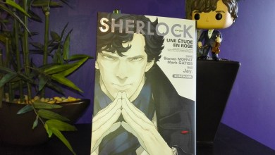 Photo de Sherlock, une étude en rose, l'adaptation manga !