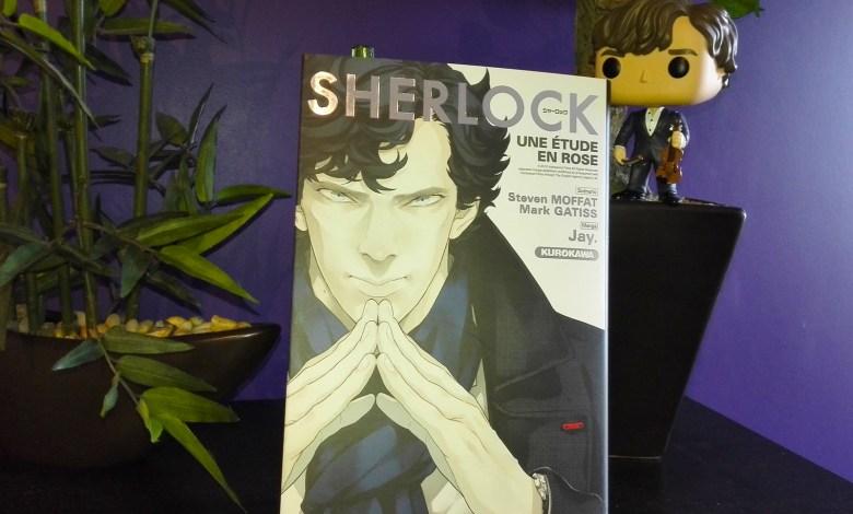 Photo of Sherlock, une étude en rose, l'adaptation manga !