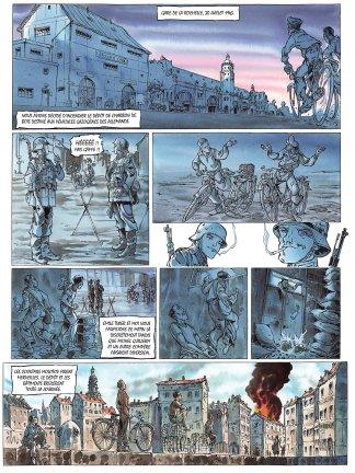 Ma guerre de La Rochelle à Dachau de Oger Tiburce et G.P. Gautier planche 1
