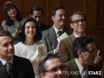 Outlander Stills saison 3 - Claire et Franck