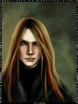 Bill Weasley_card_by_patilda