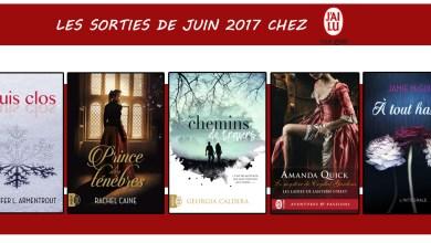 Photo of Les sorties de Juin 2017 chez J'ai Lu Pour Elle