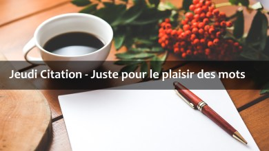 Photo de Jeudi Citation 2019 #11