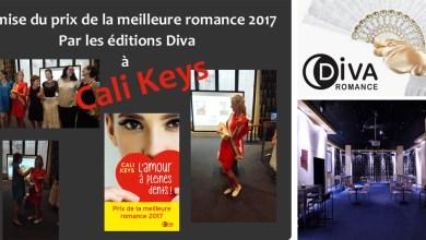 Photo de Remise du prix de la meilleure romance 2017 by Diva, le compte-rendu