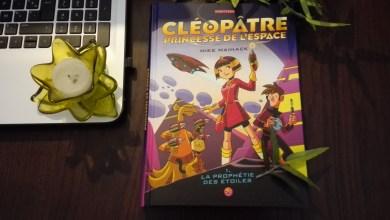 Photo of Cléopâtre princesse de l'espace T.1 : La prophétie des étoiles de Mike Maihack