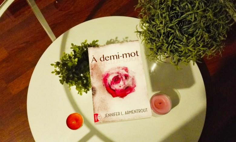 Photo of À demi-mot de Jennifer L. Armentrout