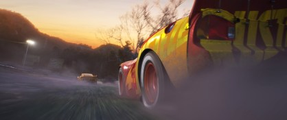 CARS 3 (Pictured) - Lightning McQueen (voice of Owen Wilson). ©2017 Disney•Pixar. All Rights Reserved.