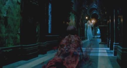 Crimson Peak - AllerdaleHall couloir Edith fantôme