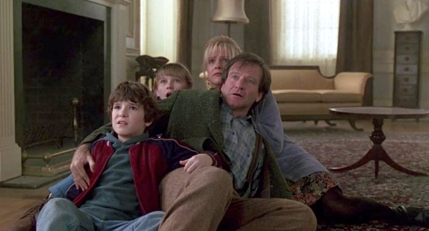 Jumanji 1995 - Judy, Sarah, Alan et Peter Peur