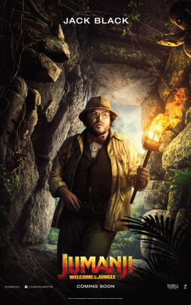Jumanji - Bienvenue dans la jungle - Jack Black