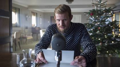 The Crown - Philip message de Noël a son épouse