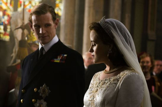 The Crown - Reconstitution Mariage d'Elizabeth 2