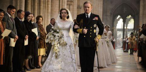The Crown - Reconstitution Mariage d'Elizabeth