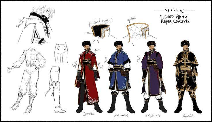 Grisha - Costumes - Auteur inconnu