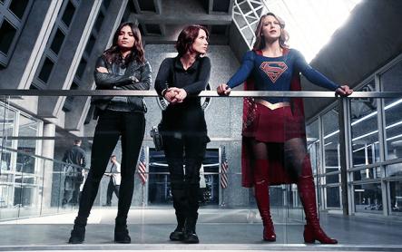 Supergirl S2 - Maggie, Alex et Supergirl