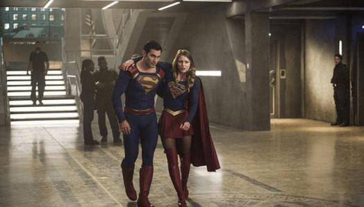 Supergirl S2 - Superman et Supergirl