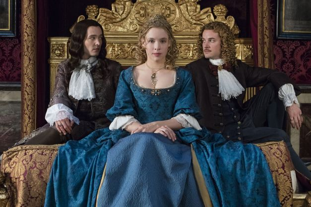 Versailles - Philippe, Liselotte, Chevelier