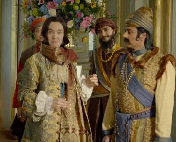 Versailles - Philippe et le sultan