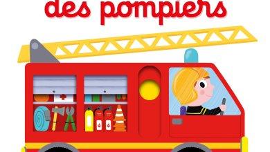 Photo of Mon imagier des pompiers – Livre animé Kididoc  de Nathalie Choux