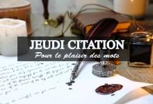 Photo de Jeudi citation 2018 #7