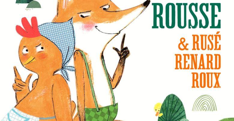 Photo de La petite poule rousse & rusé renard roux de Pierre Delye et Cécile Hudrisier