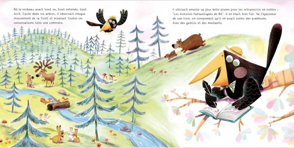Seul sur un arbre perché ! de Audrey Bouquet & Fabien Ockto Lambert-1