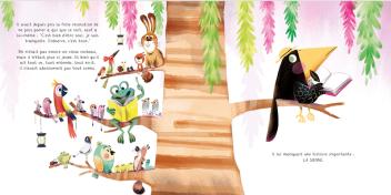 Seul sur un arbre perché ! de Audrey Bouquet & Fabien Ockto Lambert-2