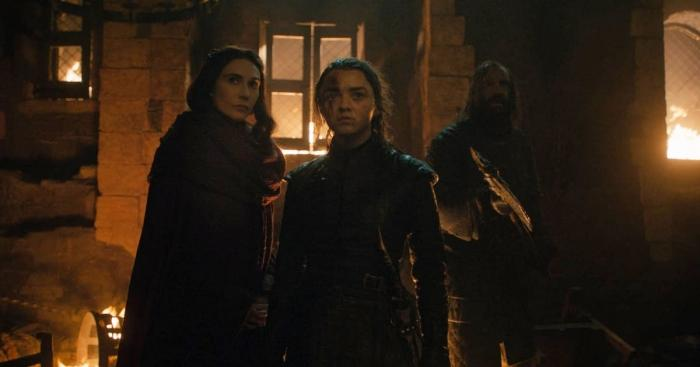 Game of Thrones Saison 8 ep 3 - Arya Clegane Melissandre