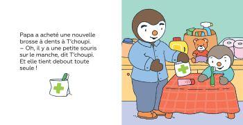 T'choupi se brosse les dents de Thierry Courtin1