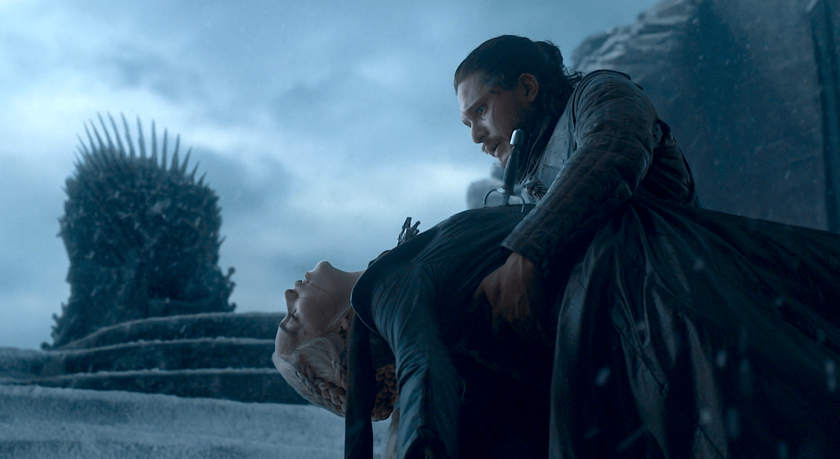 Game of thrones Saison 8 - Episode 6 - Jon et Daeneris