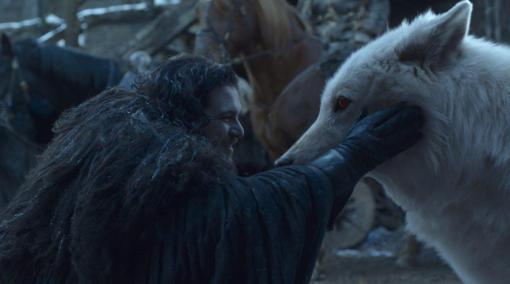 Game of thrones Saison 8 - Episode 6 - Jon et Gost