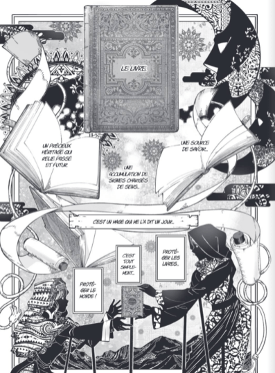Magus of the library - extrait-1